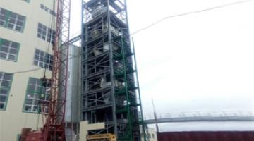 Конструкции для производственно-логистического комплекса в г. Сморгонь